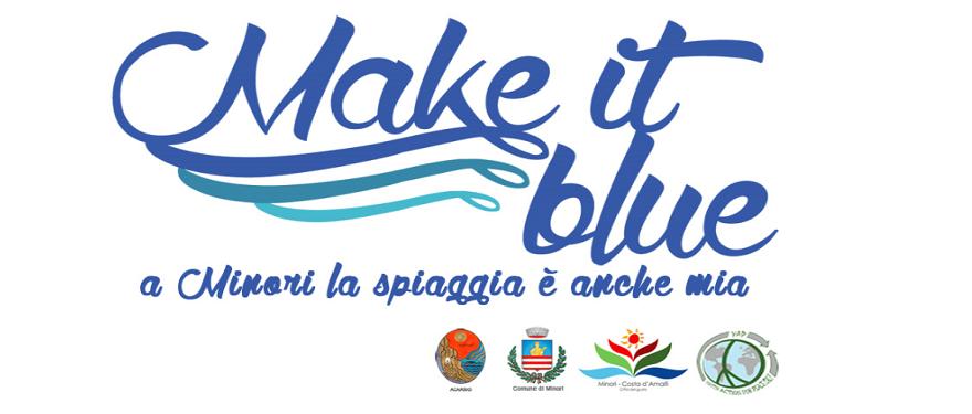 Spiaggia libera di Minori: Make it Blue tra laboratorio ambientale ed educazione