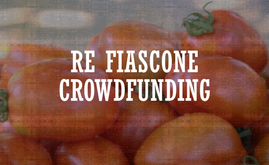 NOT PUBLISHED Crowdfunding project
