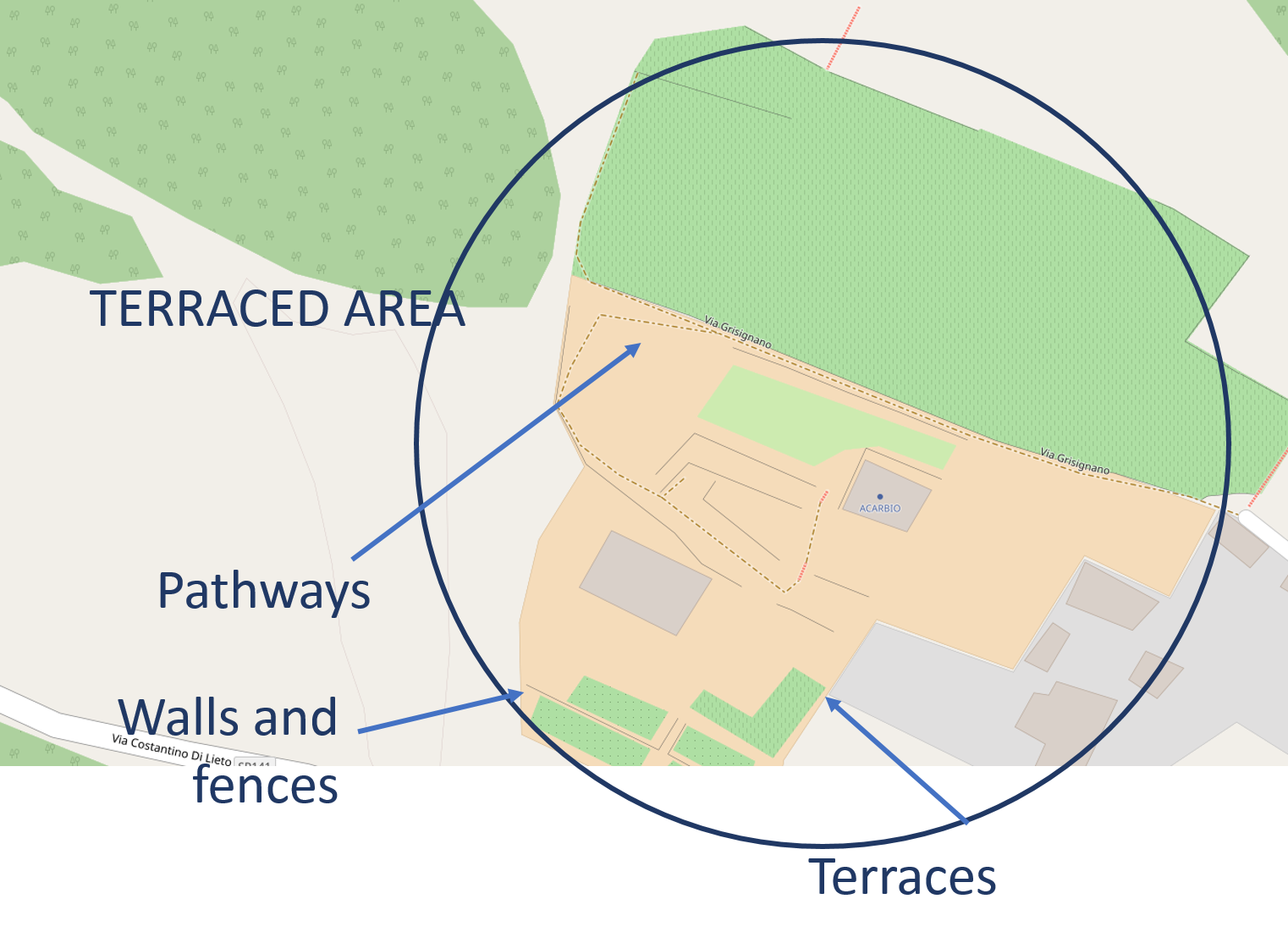Open MAPTER – MAPPING THE TERRACES OF THE AMALFI COAST – Acarbio