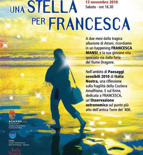 Una stella per Francesca