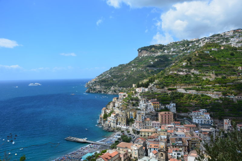 Visit the Amalfi Coast during Lockdown